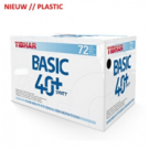 Tibhar Ball Basic 40+ Plastic (72)